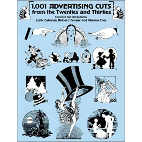 1,001 Advertising Cuts from the Twenties and Thirties (Dover Pictorial Archive Series)