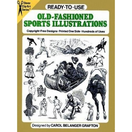 Ready-to-Use Old-Fashioned Sports Illustrations
