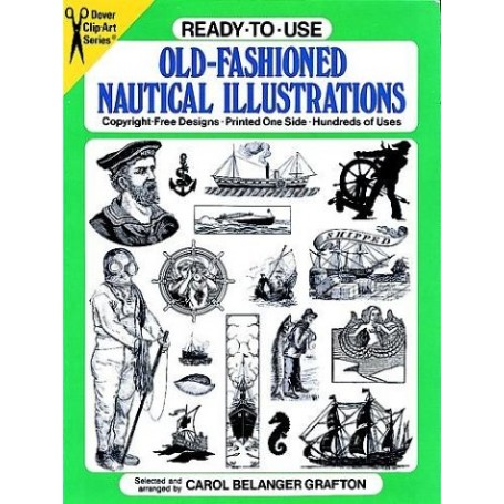 Ready-to-Use Old-Fashioned Nautical Illustrations