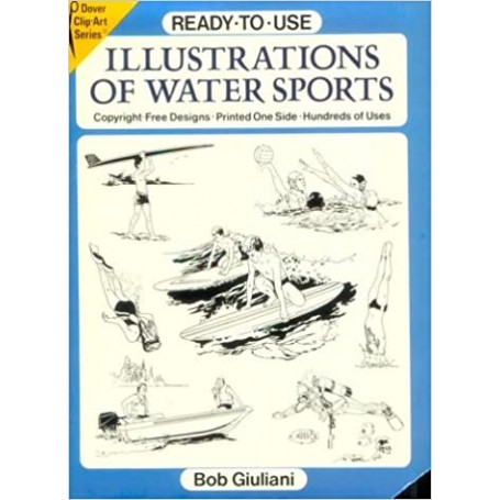 Ready-To-Use Illustrations of Water Sports