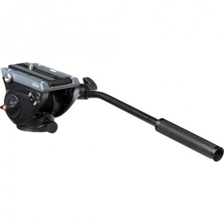 Manfrotto Fluid Video Head with Flat Base, MVH500AH