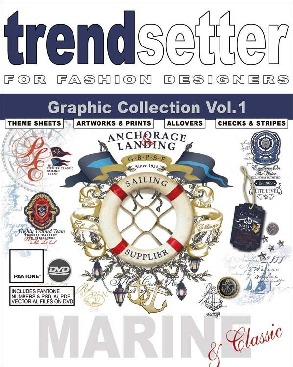 Trendsetter Marine & Classic Graphic Collection Vol. 1 incl. DVD 2016