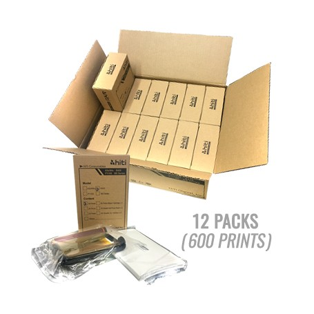 Hiti Brand S420 Print Kit for P600 Box/Carton, S420