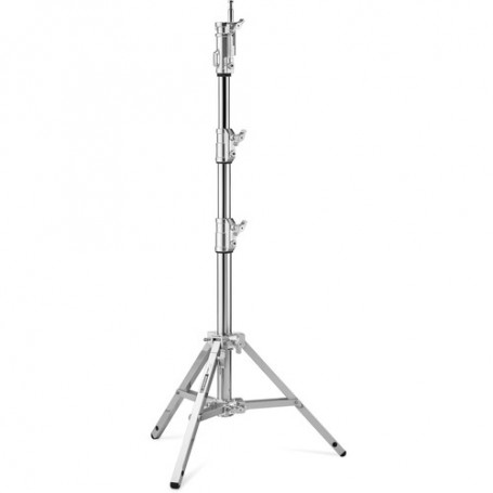 Avenger Combo Steel Stand 20 with Leveling Leg Chrome-plated, 6.5 Feet A1020CS