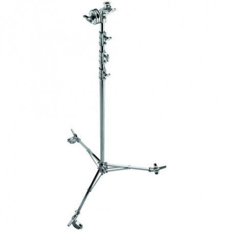 Avenger Overhead Stand 43 with Braked Wheels Chrome-plated, 14.3, A3043CS