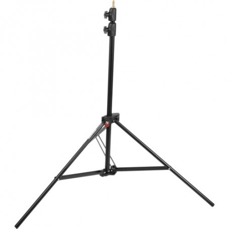 Manfrotto Alu Air-Cushioned Compact Stand Quick Stack 3-Pack Black 7.7 Feet, 1052BAC-3