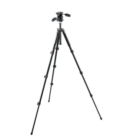 Manfrotto 4-Section Aluminum Tripod With 3-Way Head MK294A4-D3RC2