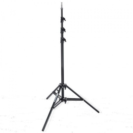 Avenger Baby Alu Stand 35 with Leveling Leg Black, 11.5 Feet A0035B