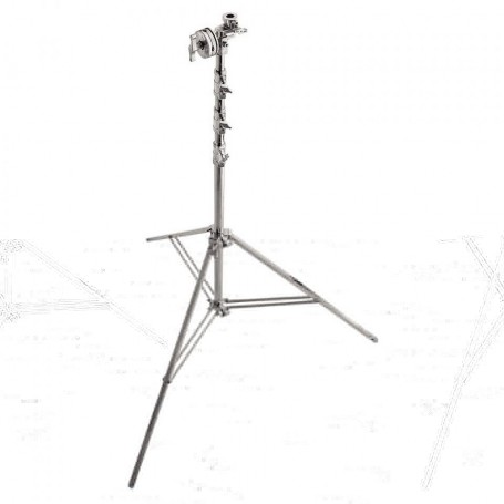Avenger Overhead Steel Stand 56 with Leveling Leg Chrome Plated, 18.3 Feet A3056CS
