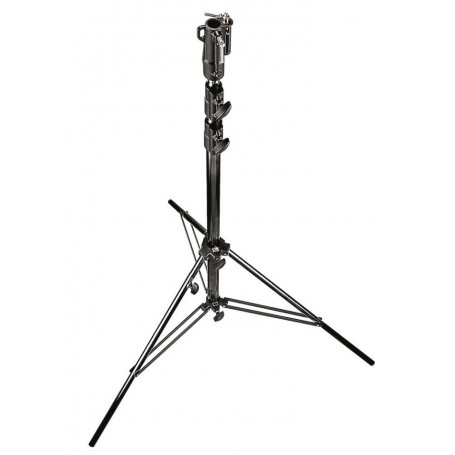 Manfrotto Heavy Duty Air Cushioned Steel Cine Stand Black 11 Feet 3.3m, 126BSUAC