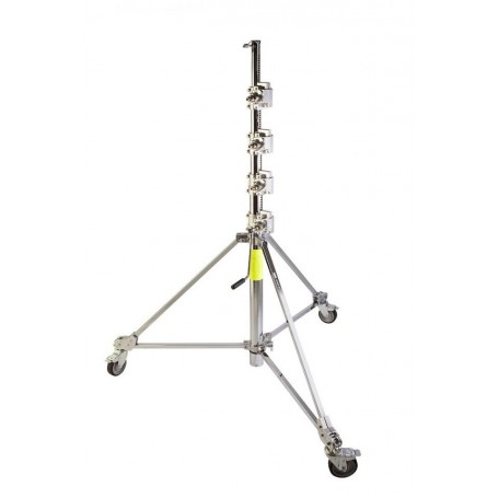 Avenger Strato Safe Crank Up Stand with Hard Rubber Wheels, B150P
