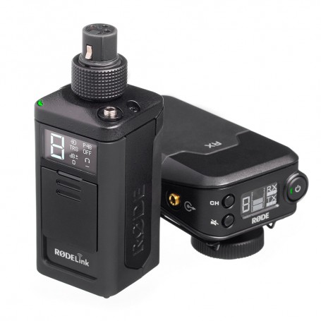 Rode Rodelink Newsshooter Kit Digital Camera Mount Wireless Plug On Microphone System with No Mic 2.4 GHz, RONSH