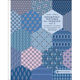 (Arkivia) GEOMETRIC TEXTURES FOR FASHION VOL.2 (VINCENZO SGUERA) Designinfo.in