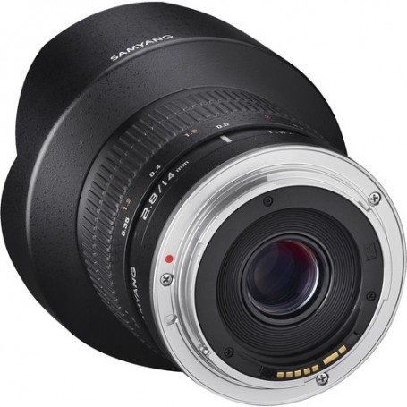 Samyang 14mm F 2.8 ED AS IF UMC Lens for Canon EF with AE Chip, SYAE14M-C