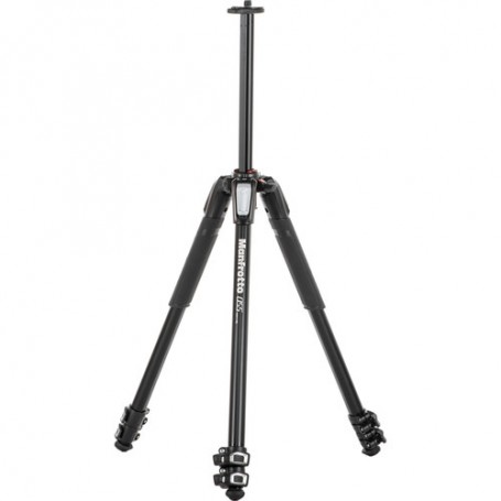 Manfrotto 055 Aluminium 3-Section Photo Tripod, with Horizontal Column, MT055XPRO3 - 1