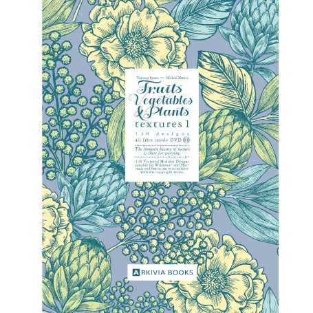 Fruits, Vegetable & Plants Texture Vol. 01 - 2FVPT01 New title in Arkivia Series
