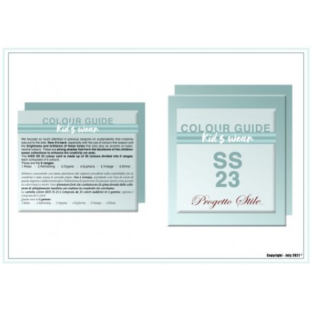 PROGETTO COLOR CARD KIDS SS.2023 DIGITAL EDITION