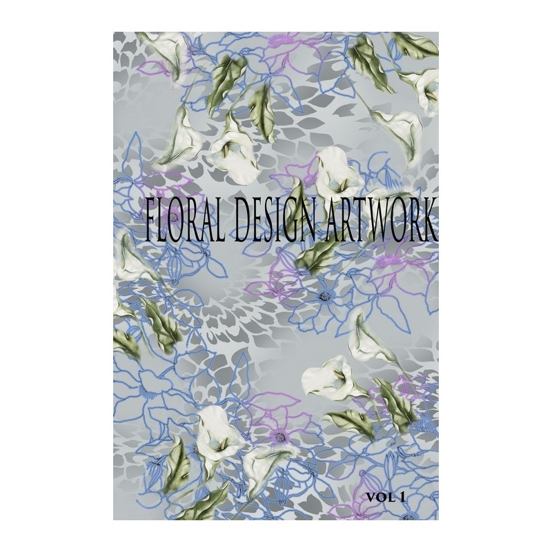 Floral Prints & Design Artworks Vol. 1