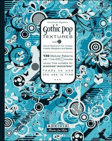 (Arkivia) GOTHIC POP TEXTURES VOL.2 Book (VINCENZO SGUERA)