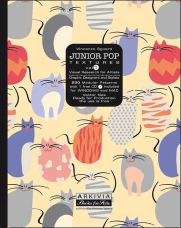 (Arkivia) JUNIOR POP TEXTURES VOL.1 Book (VINCENZO SGUERA)