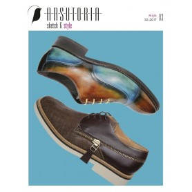 Arsutoria Sketch & Style (Men) Shoes Magazine Subscription