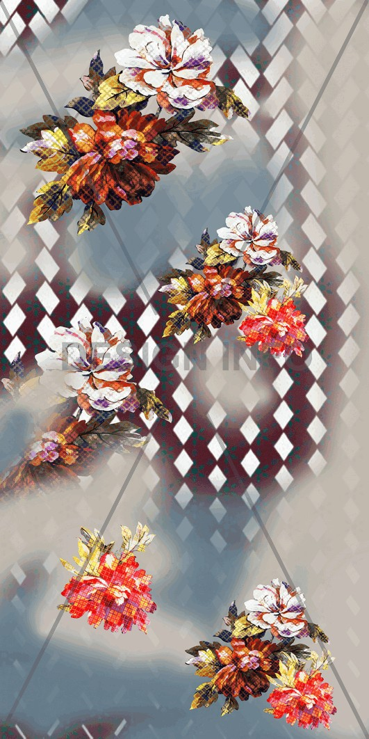 Digital Prints Geos Flowers 2069.png