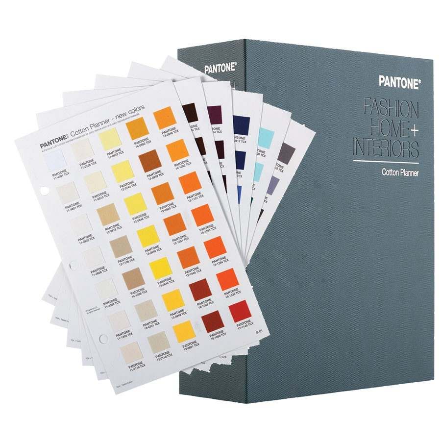 Pantone TCX Cotton Planner FHIC300 Fashion + Home + Interiors Book