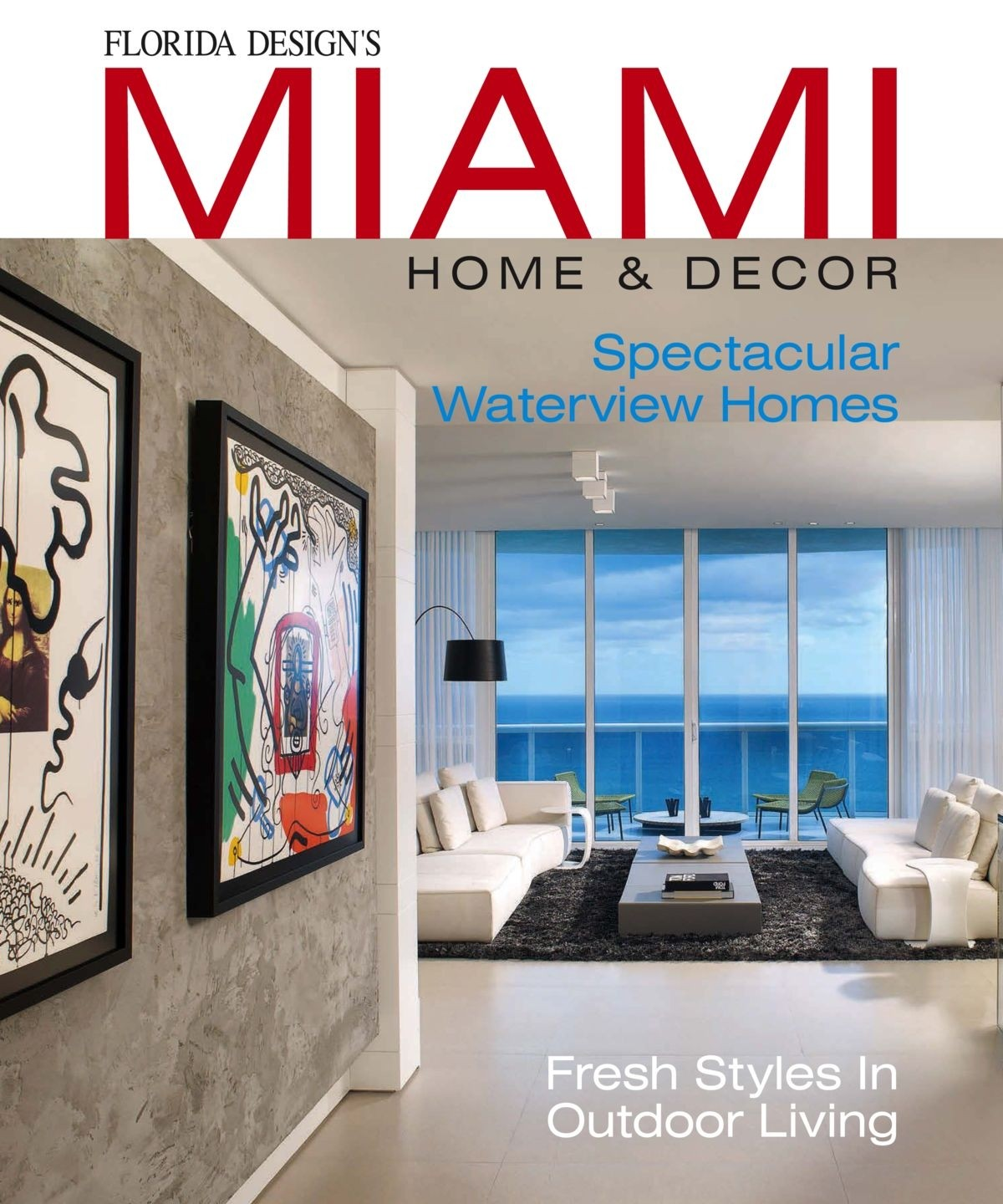 Home Decorating Magazine Subscriptions: Miami Home & Decor (USA) Magazine Subscription