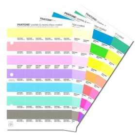 Pastels & Neon Chip Replacement Pages for PANTONE PLUS SERIES