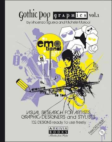 (Arkivia) GOTHIC POP GRAPHICS VOL.1 Book (VINCENZO SGUERA)