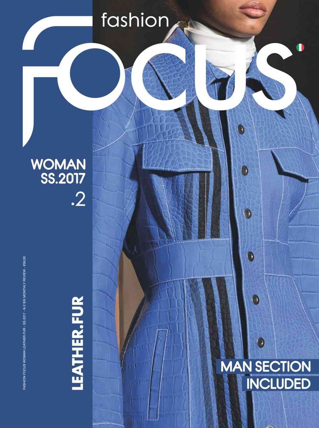 Fashion Focus (Woman) Leather & Fur Magazine Subscription A/W & S/S