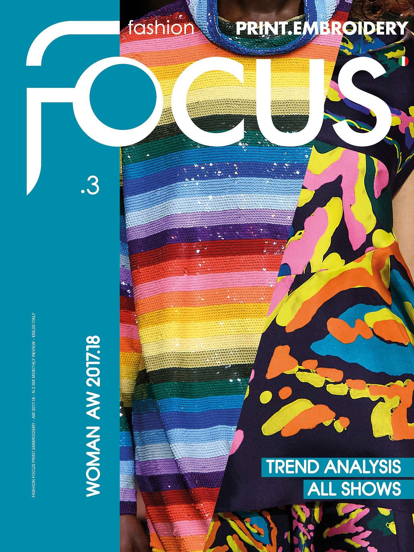 Fashion Focus (Woman) Print & Embroidery Magazine