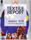 International Textile Report Magazine SS2018