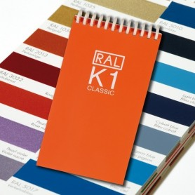 RAL K1 Booklet with 213 RAL CLASSIC Colours Chart Shade