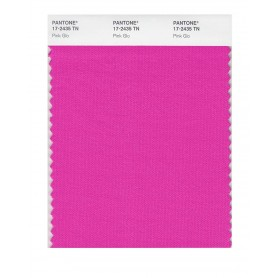 Pantone 17-2435 TN Pink Glo Nylon Brights Swatch Card