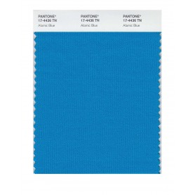 Pantone 17-4436 TN Atomic Blue Nylon Brights Swatch Card