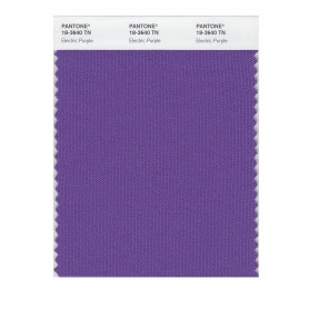 Pantone 18-3640 TN Electric Purp Nylon Brights Swatch Card