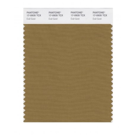 Pantone 17-0935 TCX Swatch Card Dull Gold