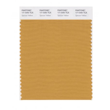 Pantone 17-1040 TCX Swatch Card Spruce Yellowy