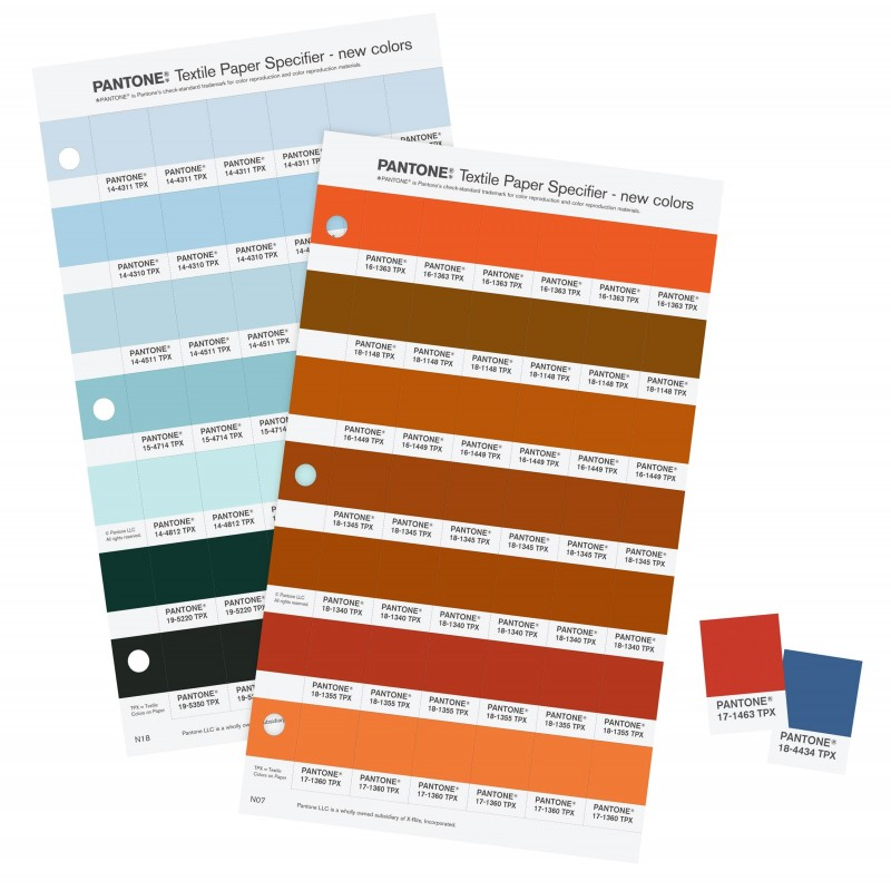 Pantone Tpx Fhi Color Specifier Replacement Pages Buy In India