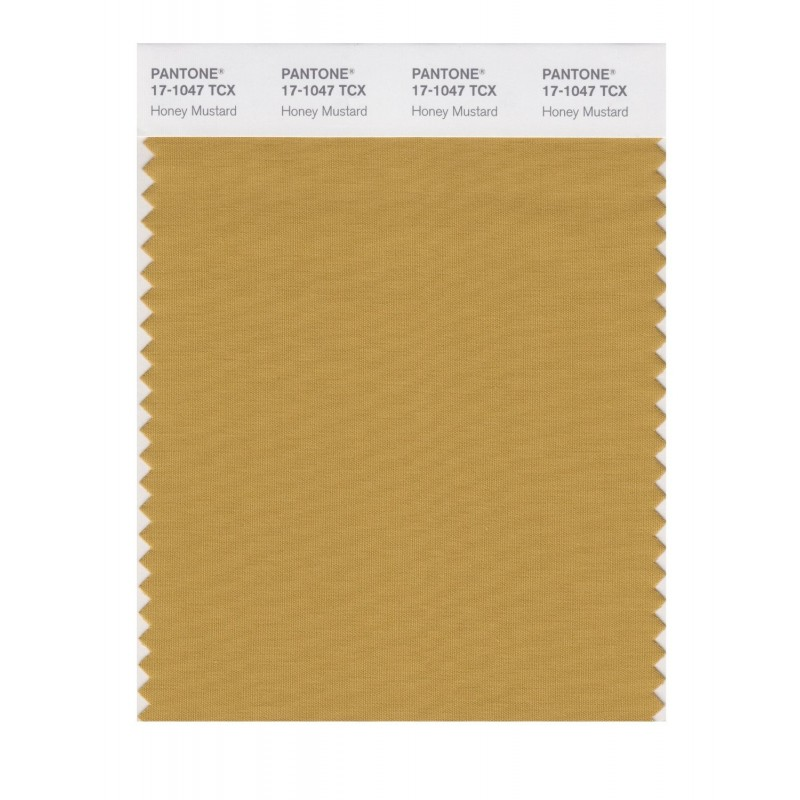 Pantone 17-1047 TCX Swatch Honey Mustard