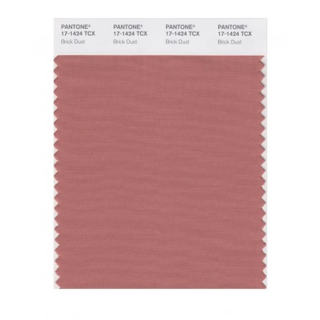 Pantone 17-1424 TCX Swatch Card Brick Dust