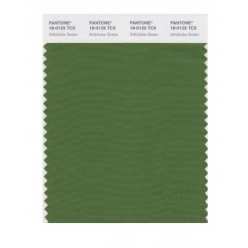 Pantone 18-0125 TCX Swatch Card Artichoke Green