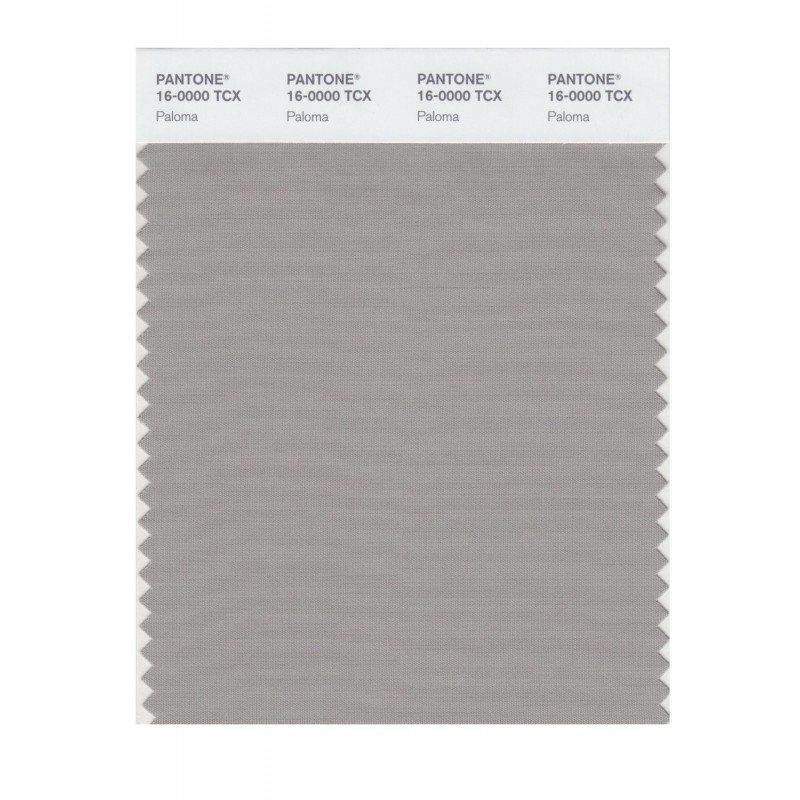 Pantone 16-0000 TCX Swatch Card Penguin