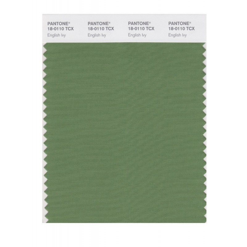 Pantone 18-0110 TCX Swatch Card English Ivy