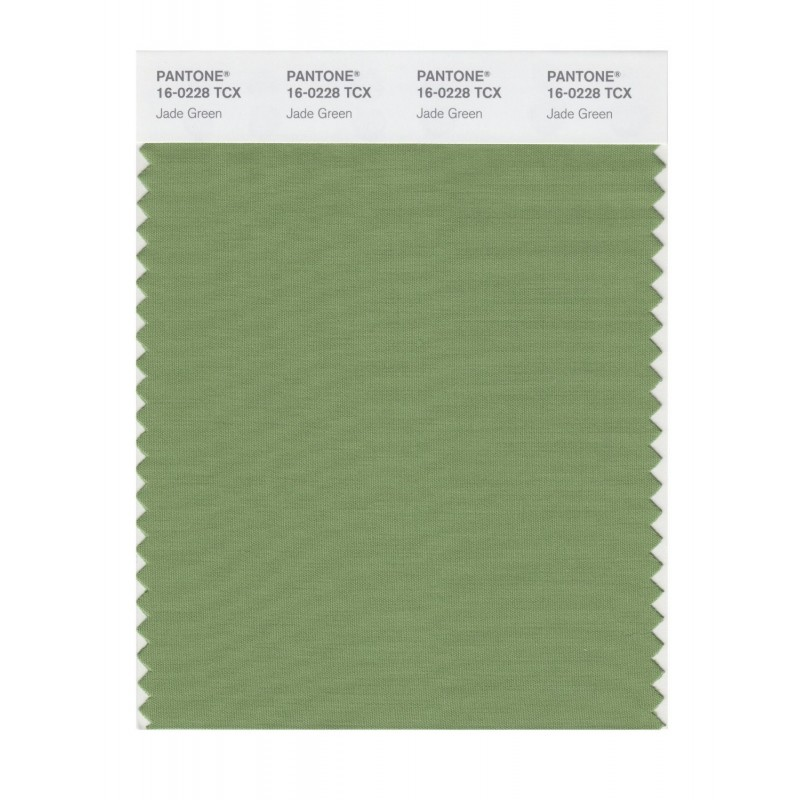 Pantone 16-0228 TCX Swatch Card Jade Green