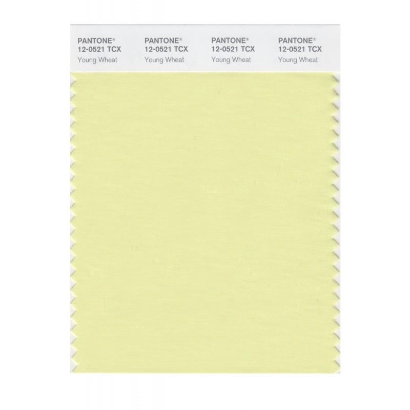 Pantone 12-0426 TCX Swatch Card Mellow Green
