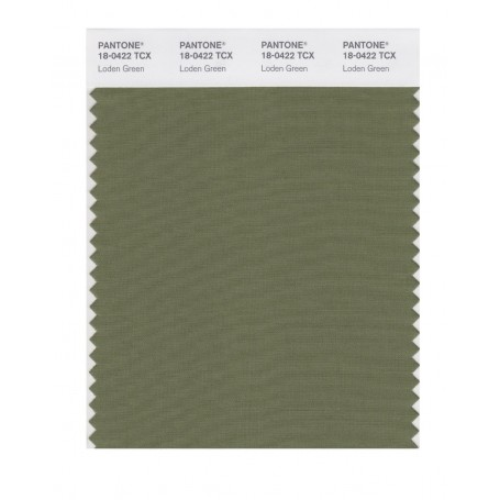 Pantone 18-0422 TCX Swatch Card Cedar Green