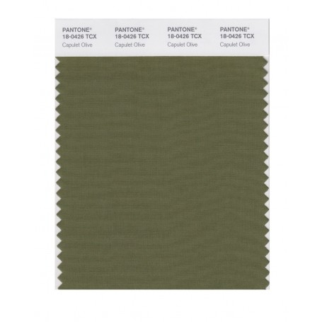 Pantone 18-0426 TCX Swatch Card Cedar Green