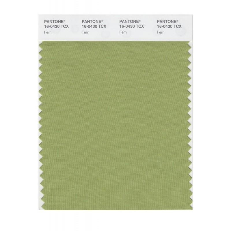 Pantone 16-0430 TCX Swatch Card Fern